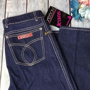 NWT Vintage Sasson High Waisted 80's Jeans